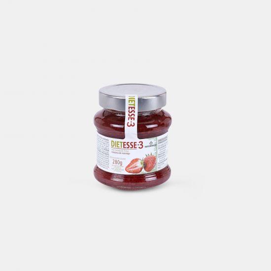Compota com frutose sabor Morango