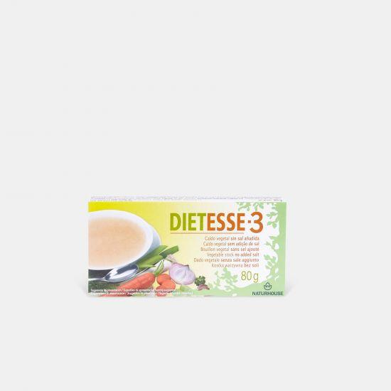 Dietesse 3 Caldo Vegetal sem Sal e sem Glutamato