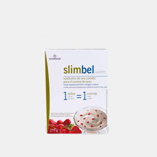 Slimbel Pudins sabor Iogurte com Frutos Vermelhos
